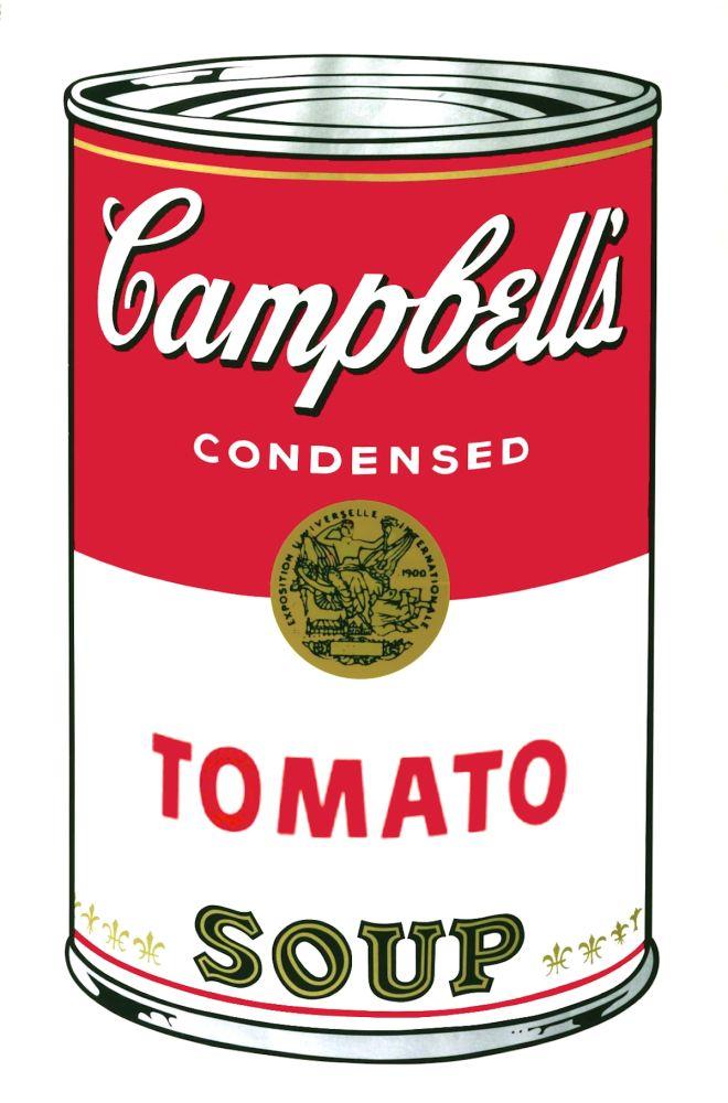 Serigrafia Warhol - Campbell's Soup I: Tomato (FS II.46)