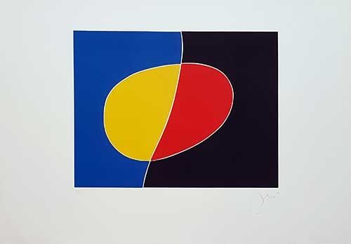 Incisione Miró - Cantic del Sol