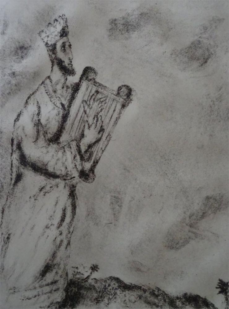 Acquaforte Chagall - Cantique de l'Arc