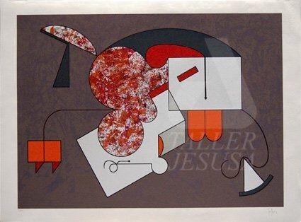 Serigrafia Felguerez - Caracoles Del Silencio