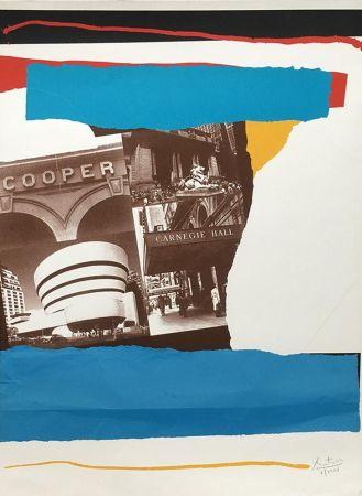 Litografia Motherwell - Carnegie Hall