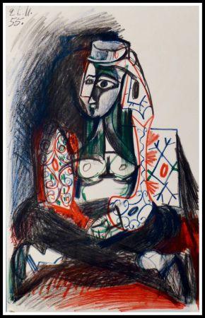 Litografia Picasso (After) - CARNET DE CALIFORNIE VII