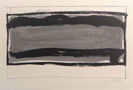 Litografia Hernandez Pijuan - Carpeta 12 aniversari Galeria Joan Prats