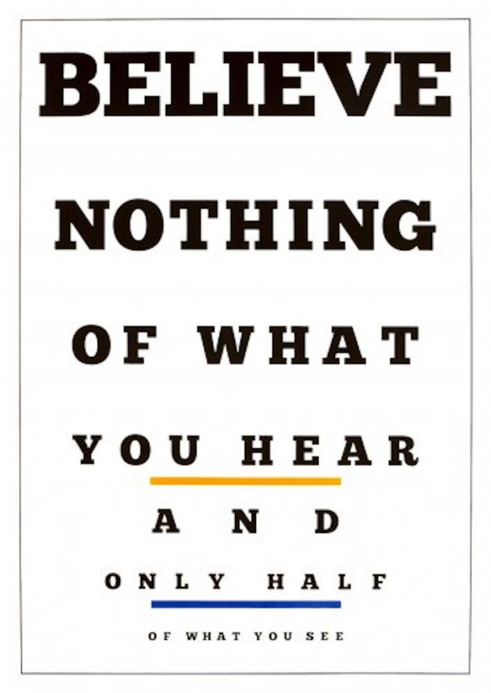 Litografia Navarro - Carta Visual (Believe)