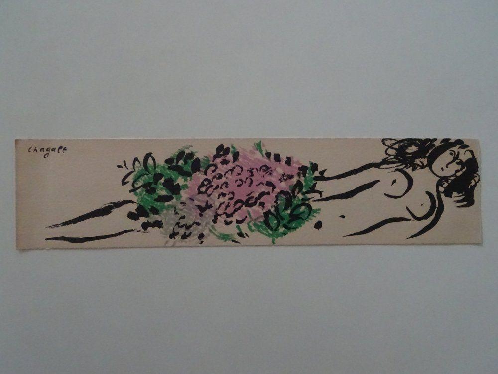 Litografia Chagall - Carte