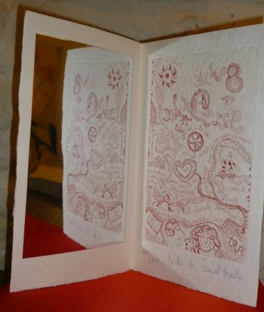 Multiplo De Saint Phalle - Carte de voeu
