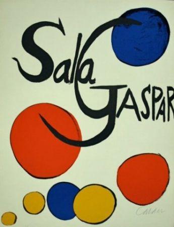 Litografia Calder - Cartel Sala Gaspar