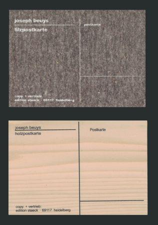Serigrafia Beuys - Cartes Postales