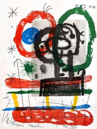 Litografia Miró - Cartones