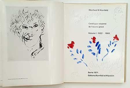 Libro Illustrato Chagall - Catalogue de l'oeuvre gravé - dessin