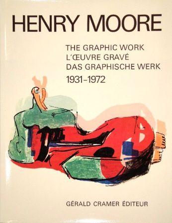 Libro Illustrato Moore - Catalogue of the graphic work. 1931-1972.
