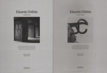 Libro Illustrato Chillida - Catalogue Raisonné Of Sculpture 2 Volumes