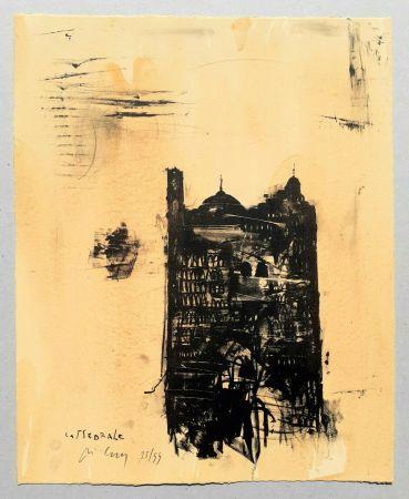 Litografia Pizzi Cannella - Cattedrale