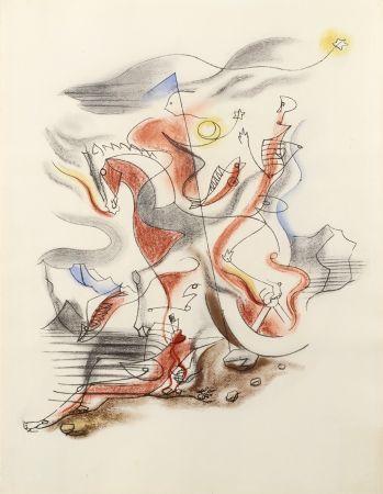 Litografia Masson - CAVALIER, 1933