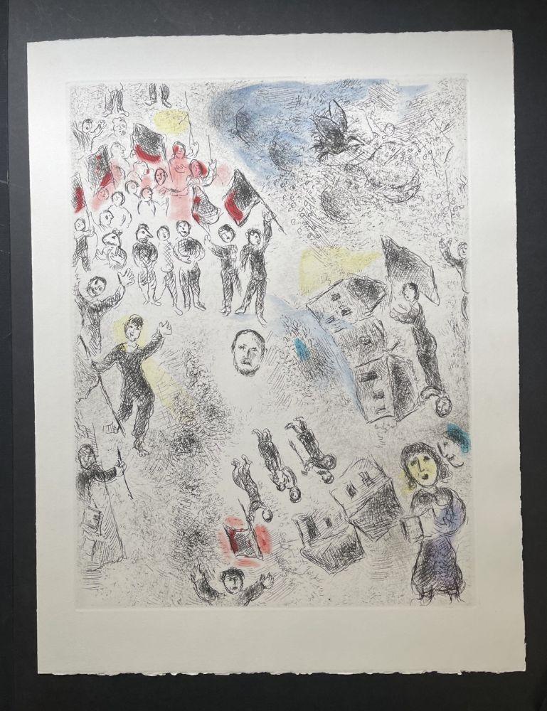 Non Tecnico Chagall - Ce lui qui dit les choses sans rien dire (Plate 11)