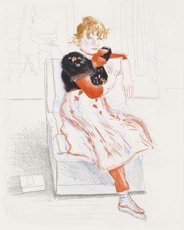 Non Tecnico Hockney - Celia Observing