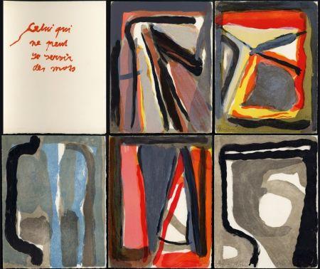Libro Illustrato Van Velde - CELUI QUI NE PEUT SE SERVIR DES MOTS (Alechinsky, Beckett, Bonnefoy, Butor, Dupin, Torreilles, etc.)