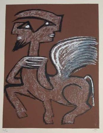 Serigrafia Matta - Centaur Hemaphrodite