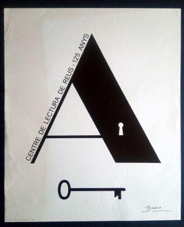 Manifesti Brossa - Centre de Lectura de Reus - 125 anys - 1984