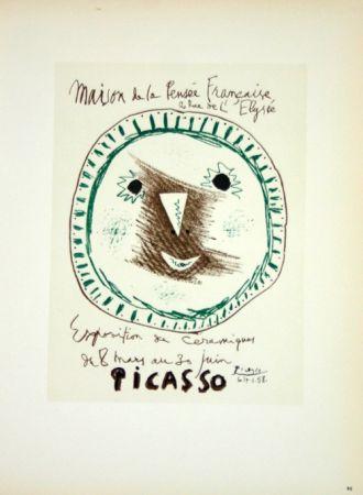 Litografia Picasso (After) - Ceramiques