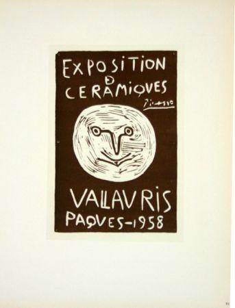 Litografia Picasso (After) - Ceramiques  Paques