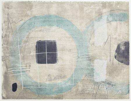 Litografia Coll - Cercle Blue