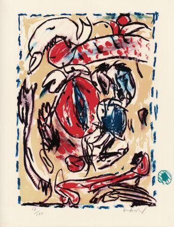 Litografia Alechinsky - Cerclitude