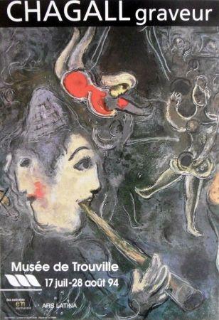 Manifesti Chagall - '' Chagall Graveur ''
