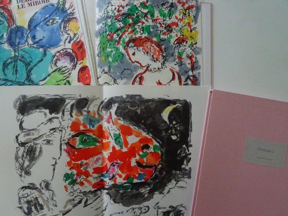 Litografia Chagall - Chagall l'Admirable