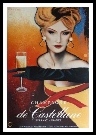 Manifesti Razzia - CHAMPAGNE DE CASTELLANE - EPERNAY FRANCE