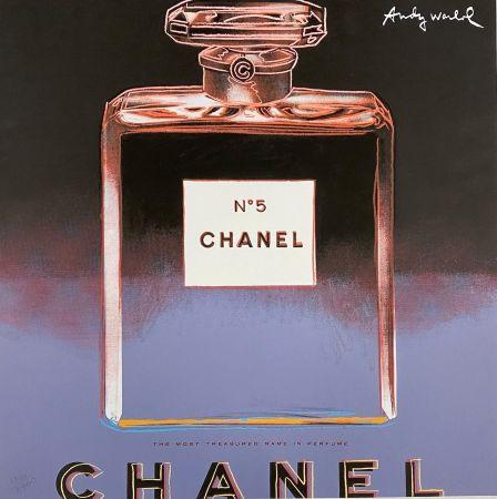 Offset Warhol - Chanel No. 5 (Blue),