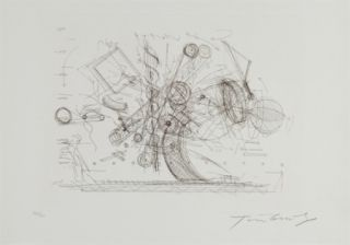 Incisione Tinguely - Chaos