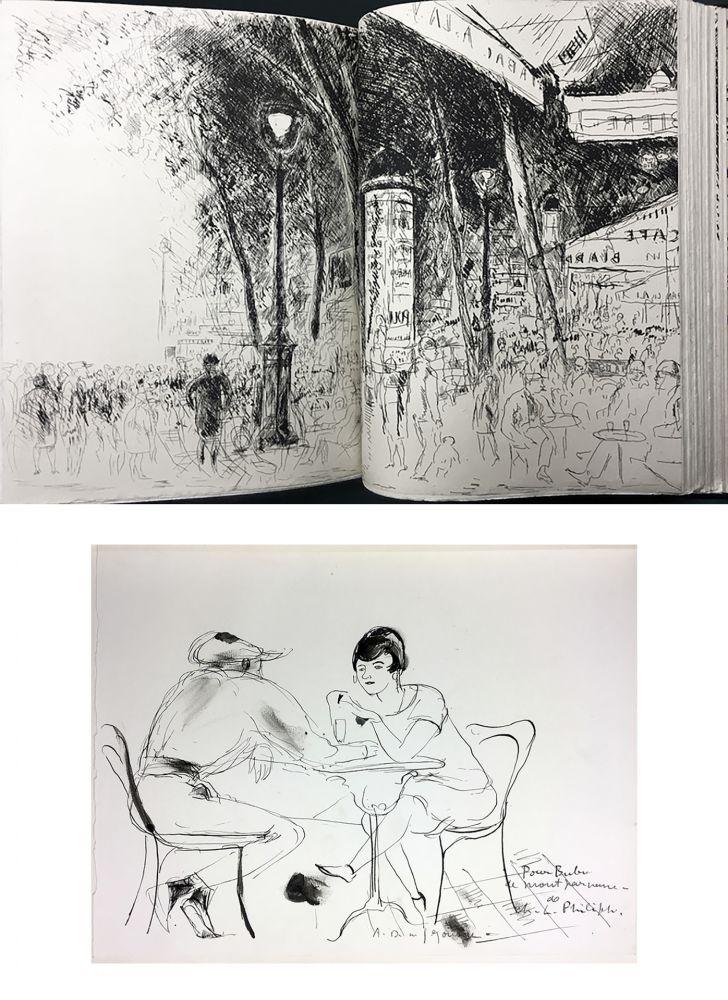 Libro Illustrato De Segonzac - Charles-Louis Philippe : BUBU DE MONTPARNASSE. Avec dessin original et suites (1929).
