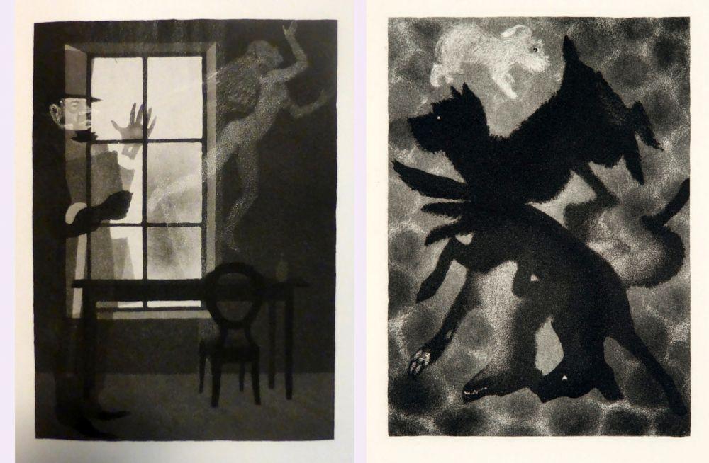 Libro Illustrato Alexeïeff - Charles Baudelaire : PETITS POÈMES EN PROSE. Eaux-fortes d'Alexeieff (1934).