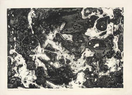 Litografia Dubuffet - Chars et chevaux célestes
