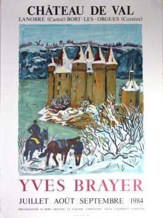Litografia Brayer - Chateau de Val