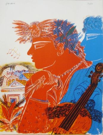 Litografia Fassianos -  Chemins d'arménie