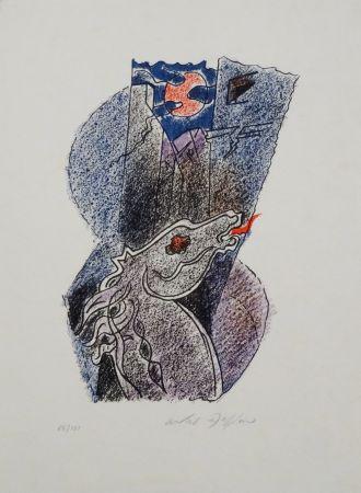 Litografia Masson - Cheval
