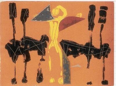 Litografia Marini - Chevaux et Cavaliers IV