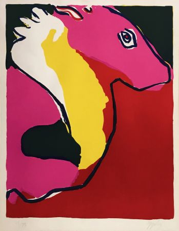 Litografia Appel - CHEVEL (HORSE)