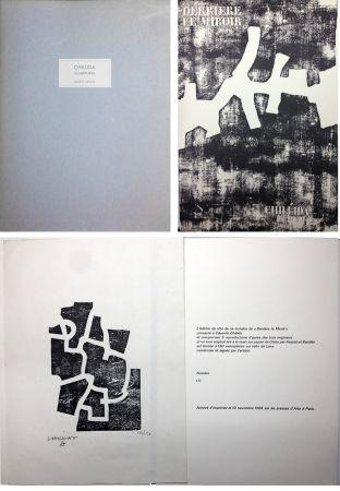 Libro Illustrato Chillida - CHILLIDA SCULPTURES. Derrière Le Miroir n° 174. Nov. 1968. TIRAGE DE LUXE SIGNÉ.