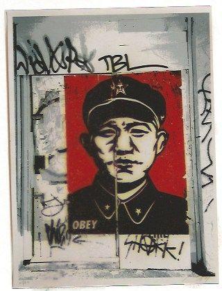 Serigrafia Fairey - Chinese San Francisco