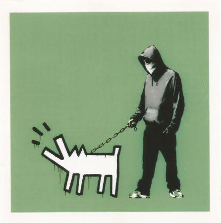 Serigrafia Banksy - Choose your weapon - Slate