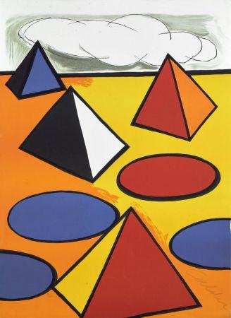 Litografia Calder - Ciel d'orage - 1976