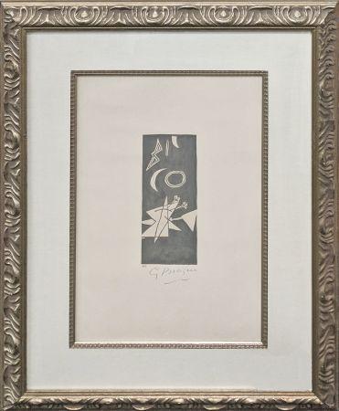 Litografia Braque - CIEL GRIS II