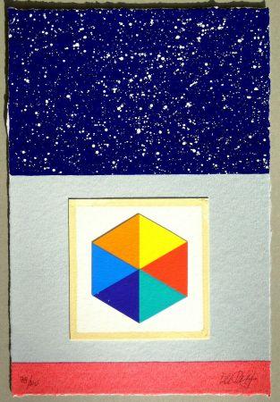 Serigrafia Del Pezzo - Cielo stellato