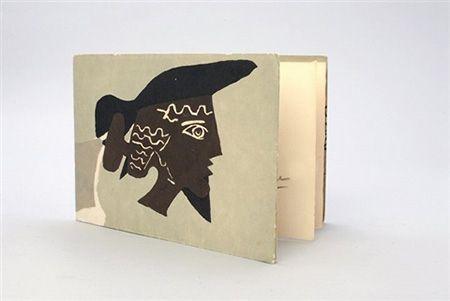 Libro Illustrato Braque - Cinq poésie en hommage à Braque