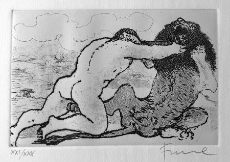 Libro Illustrato Fiume - Cinque acqueforti per i poeti greci tradotti da Salvatore Quasimodo.