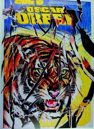 Serigrafia Rotella - Circo Orfei