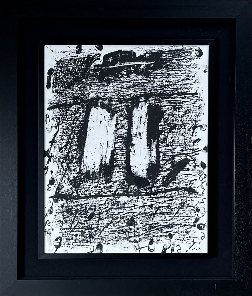 Litografia Tàpies - CIRCULO DE PIEDRA